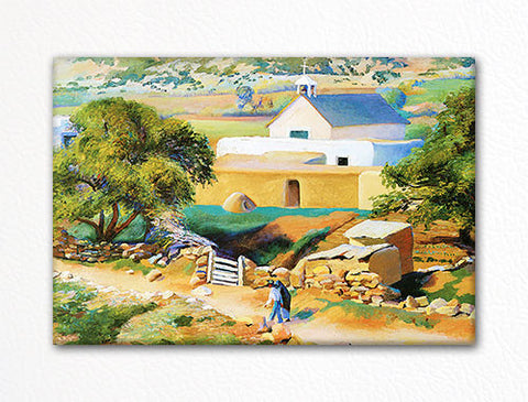 The Mission Church Fridge Magnet