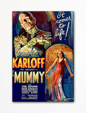 The Mummy Movie Poster Fridge Magnet