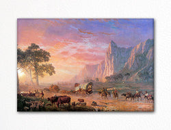 The Oregon Trail Albert Bierstadt Fridge Magnet