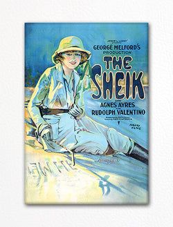 The Sheik Vintage Movie Poster Fridge Magnet