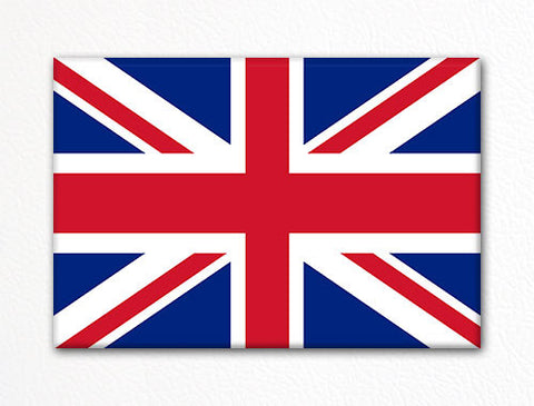 Flag of the United Kingdom British Flag Fridge Magnet