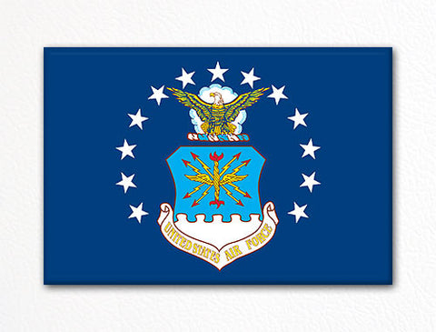 United States Air Force Flag Fridge Magnet