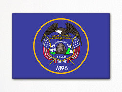 Utah State Flag Fridge Magnet