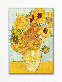 van Gogh Sunflowers Painting Fridge Magnet