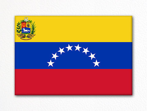 Flag of Venezuela Venezuelan Flag Fridge Magnet