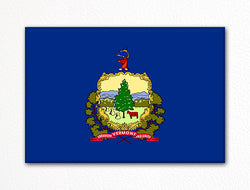 Vermont State Flag Fridge Magnet