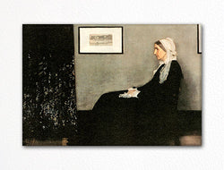 Whistler's Mother Fridge Magnet