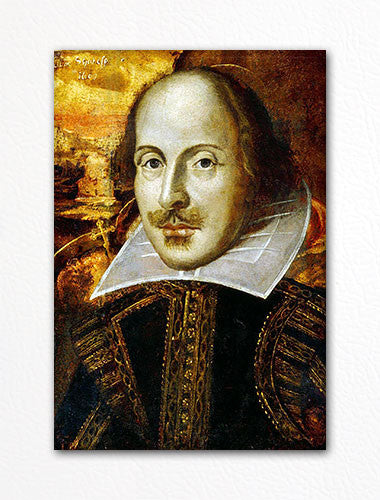William Shakespeare Portrait Fridge Magnet