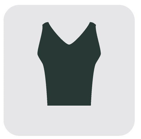Sleeveless Top - Dry cleaning