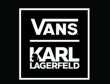 Karl Lagerfield creates sneaker for Vans