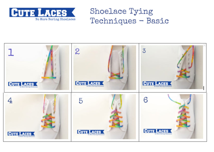 Shoelace Tying Technique - BASIC