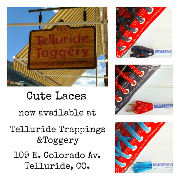 Now available at Telluride Trappings and Toggery