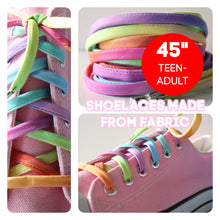 Shoelaces Rainbow Ombre