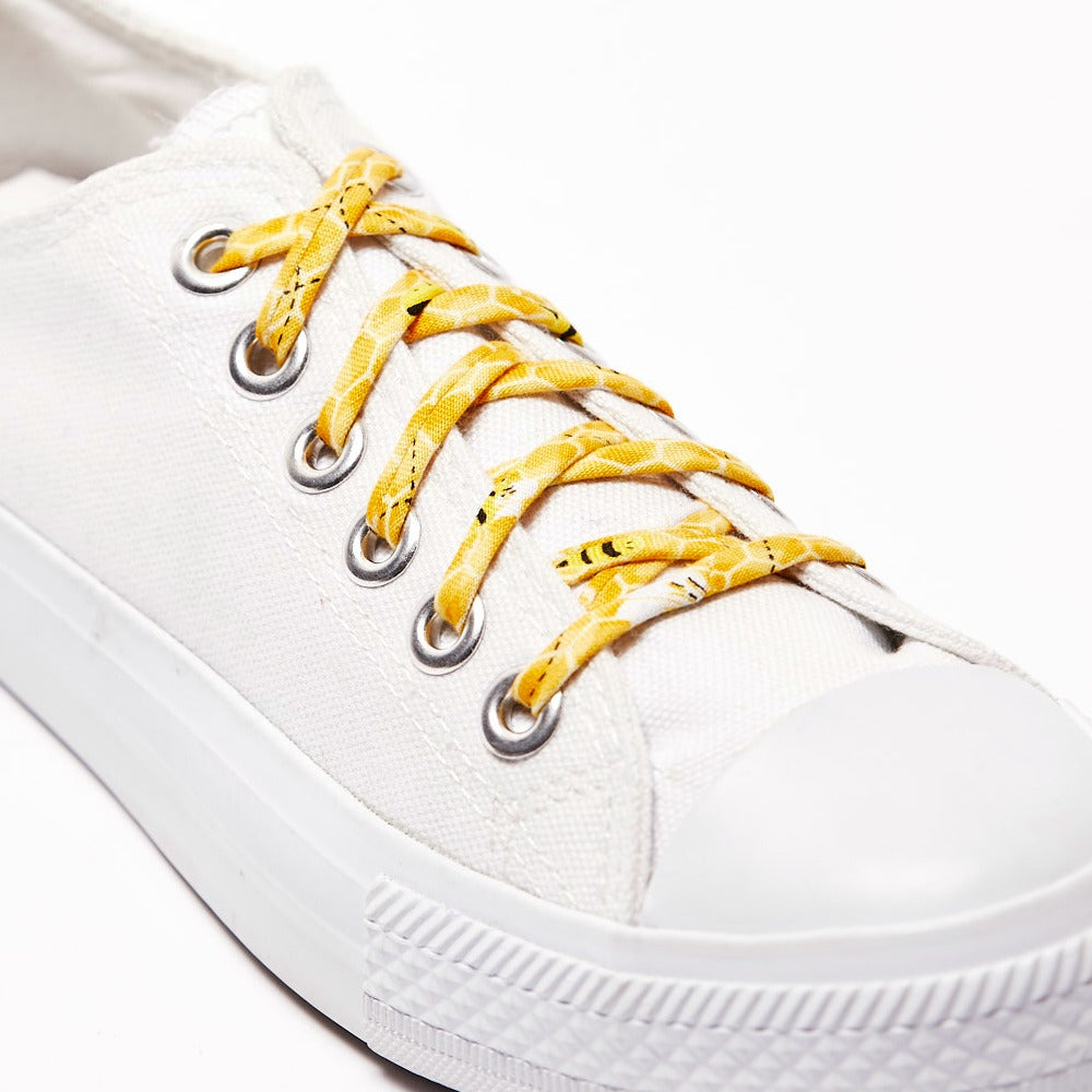 honey bee shoelaces