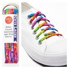 shoelaces tie dye shoe lace fashion