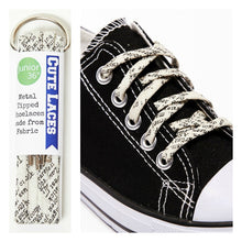 Shoelaces - Words - Lettering - Writer