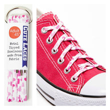 heart shoe laces for pink chucks