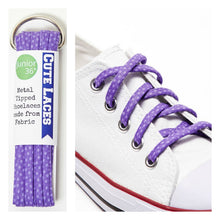 purple converse shoe laces shoelaces