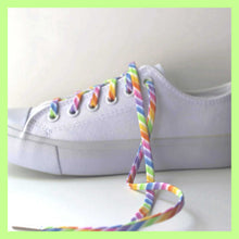 Rainbow Stripes Shoelaces