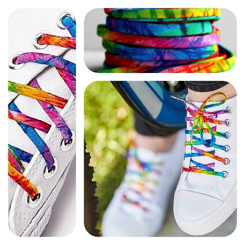 Shoelaces Tie Dye