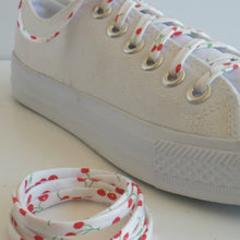 Shoelaces-shoe-laces-cherry-custom-funky-on-white-chucks