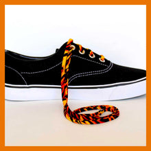 Flames Shoelaces - Hot Rod Vans Shoe Laces