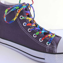 Converse High Tops Shoelaces Bright Fun Rainbow