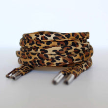 Shoelaces - Leopard Print - Animal Print
