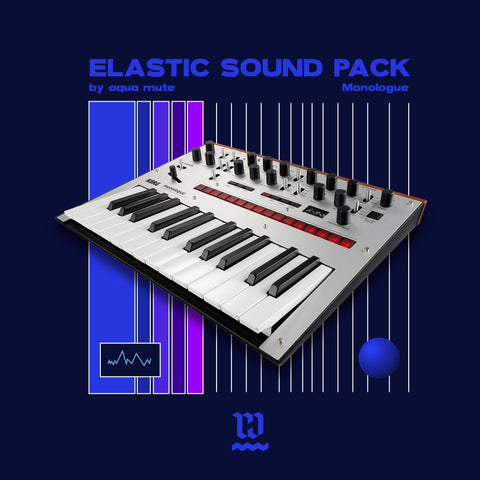 Elastic Sound Pack para KORG Monologue