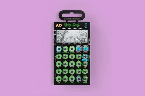 Pocket Operator 137 Rick and Morty