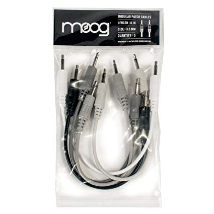 Moog Modular Patch Cables