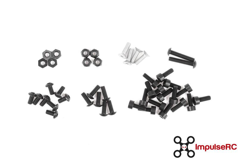 MR STEELE APEX LIGHT WEIGHT FULL SCREW KIT - DroneRacingParts.com