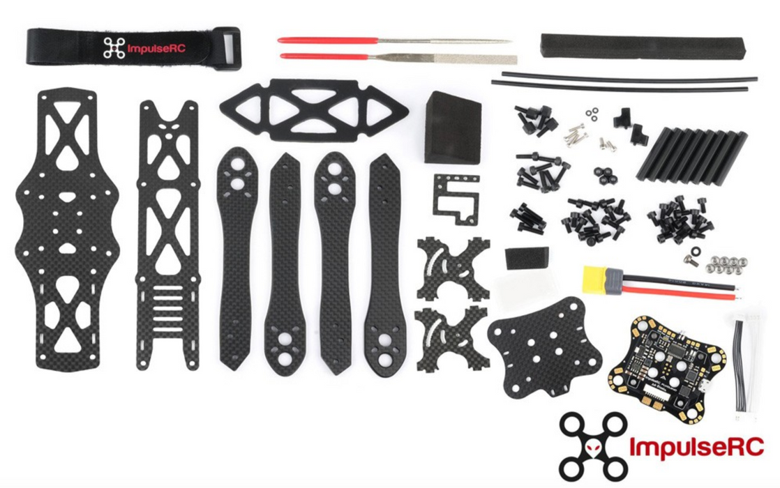 "Mr Steele 5"" Alien Frame Kit + KISS PDB OSD - DroneRacingParts.com"