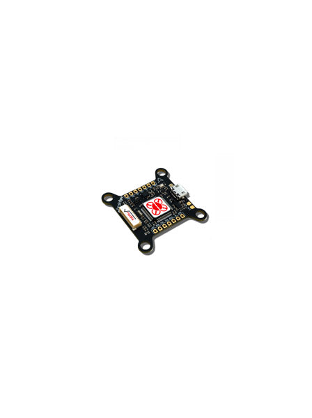 BrainFPV RADIX F4 Flight Controller + gOSD (Custom Graphical OSD, Baro, Stackable, Betaflight) - DroneRacingParts.com