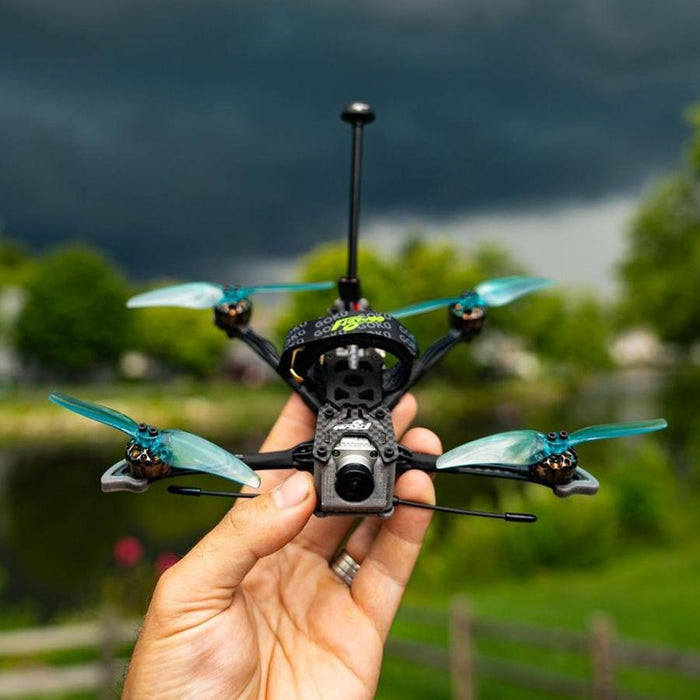 Explorer LR HD 4'' Micro Long Range FPV Ultralight Quad w/ Caddx Vista HD System + TBS Crossfire-DroneRacingParts.com-FlyWoo