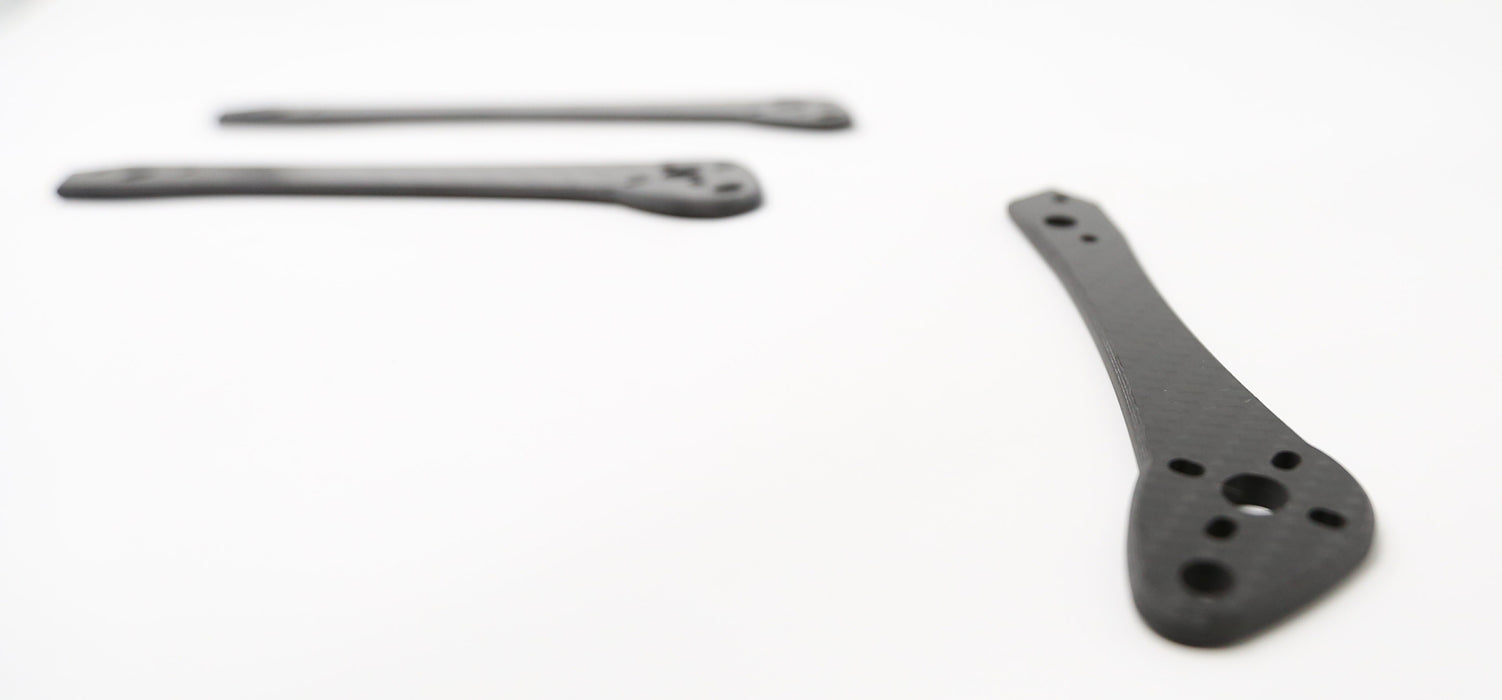 "MiB Frame Replacement Arm 5"", 6"" & 7"" - DRPFPV - DroneRacingParts.com"