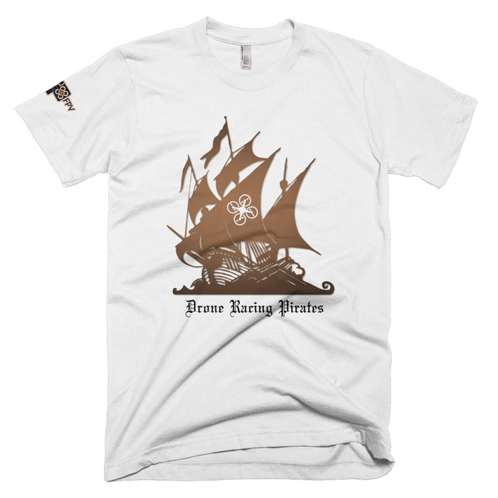 DRP - Drone Racing Pirates Short-Sleeve T-Shirt - DroneRacingParts.com