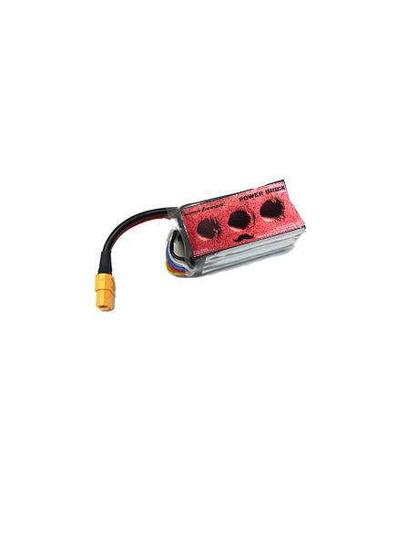 Thunder Power RC Mr. Steel Power Brick Series 4S 1300 MAH 14.8V 100C - DroneRacingParts.com