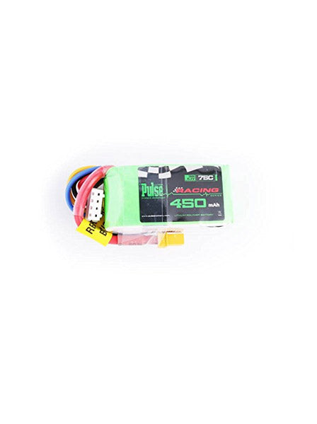 PULSE 450mah 3S 11.1V 75C (XT30 plug) LiPo Battery