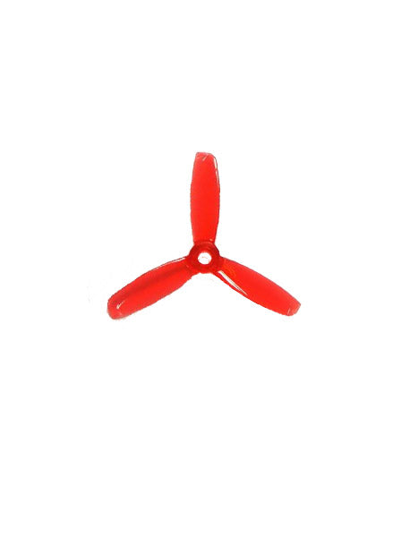 ROTORX 3 INCH TRI BLADE PROPELLERS - RED - DroneRacingParts.com