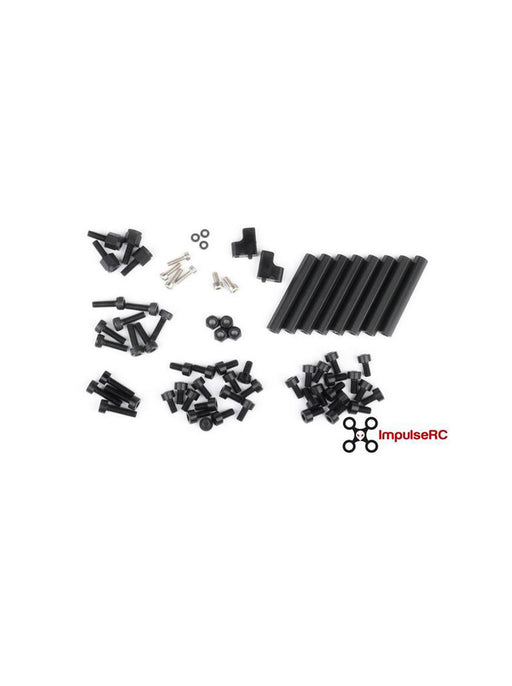 "MR STEELE EDITION ALIEN 5"" FULL SCREW PACK - BLACK - DroneRacingParts.com"