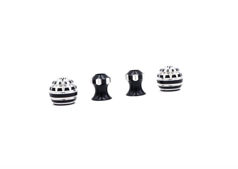 TBS HONEY STICK ENDS M4 (BLACK) - DroneRacingParts.com