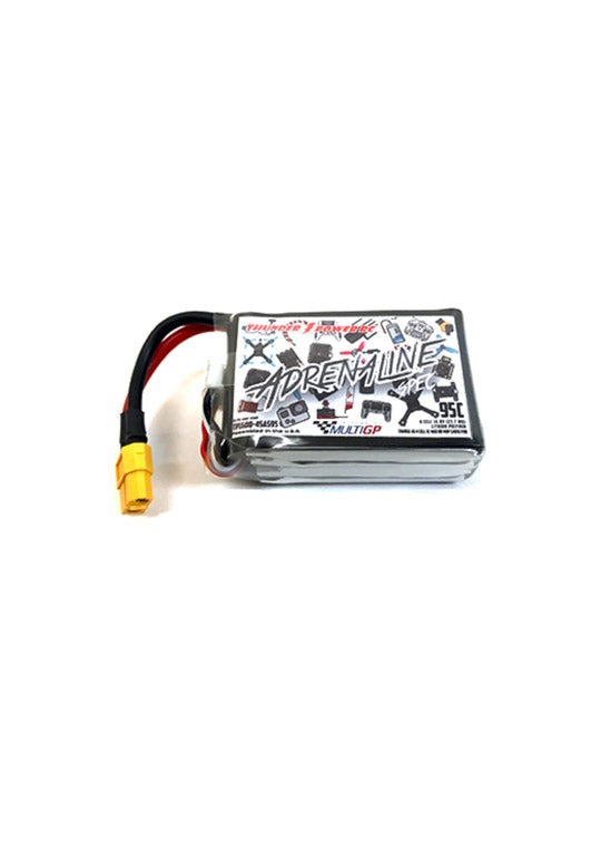 Thunder Power Multi GP Spec Class 14.8v 1600mah 95c Lipo - DroneRacingParts.com