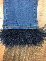 Feather Crop Jean