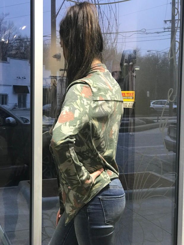 Abstract Floral Jacket