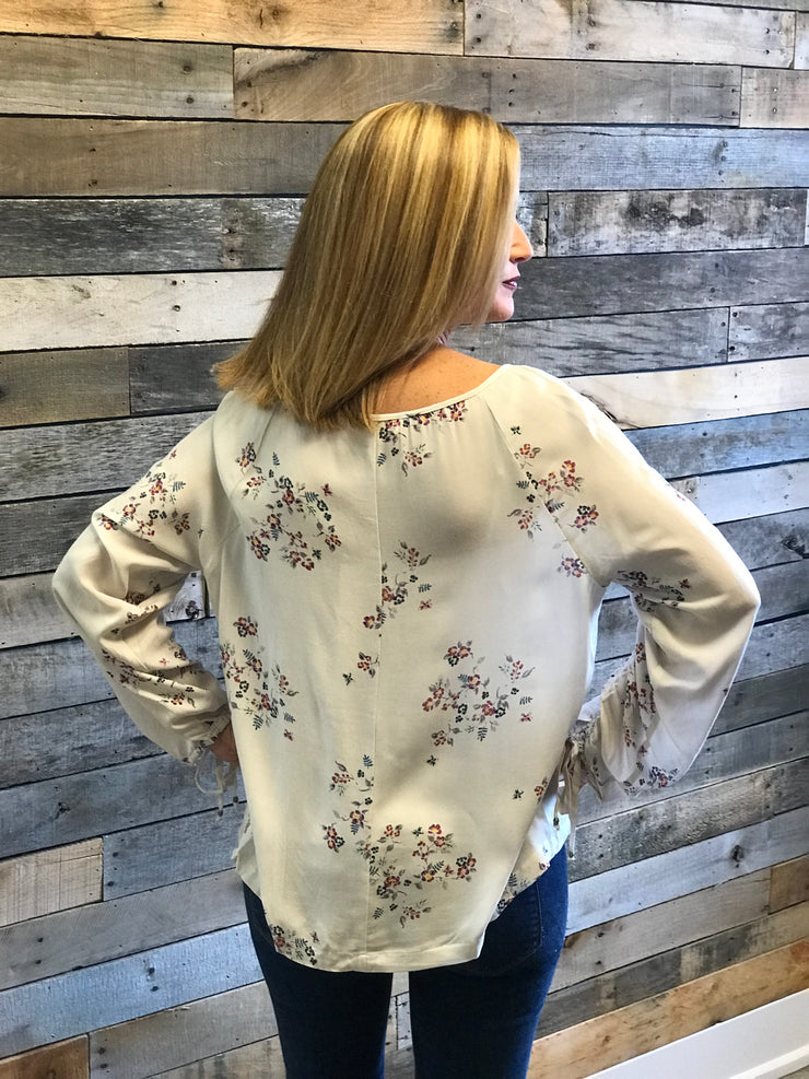 Dusty Lavendar Scoop Neck Top