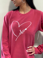 Ohio Heart Sweatshirt