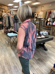 Small Sleeveless Flannel