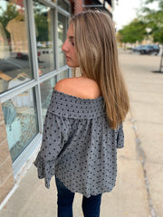 Off Shoulder Detailed Top