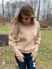 Balloon Soft Knit Sweater